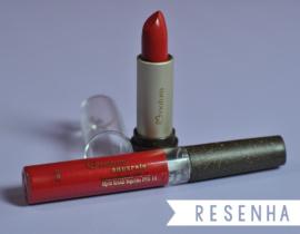 Resenha: Batom vermelho Natura Aquarela (matte e líquido)