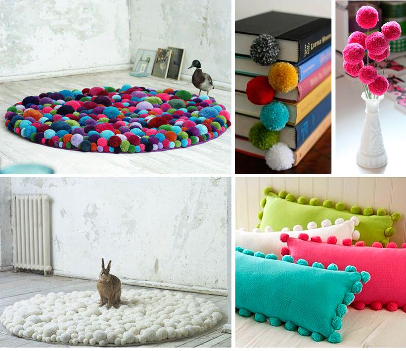DIY Decoração  Pompom  Projeto DIY  Faça você mesma  Decoração  Moda &am -> Decoracao Banheiro Diy