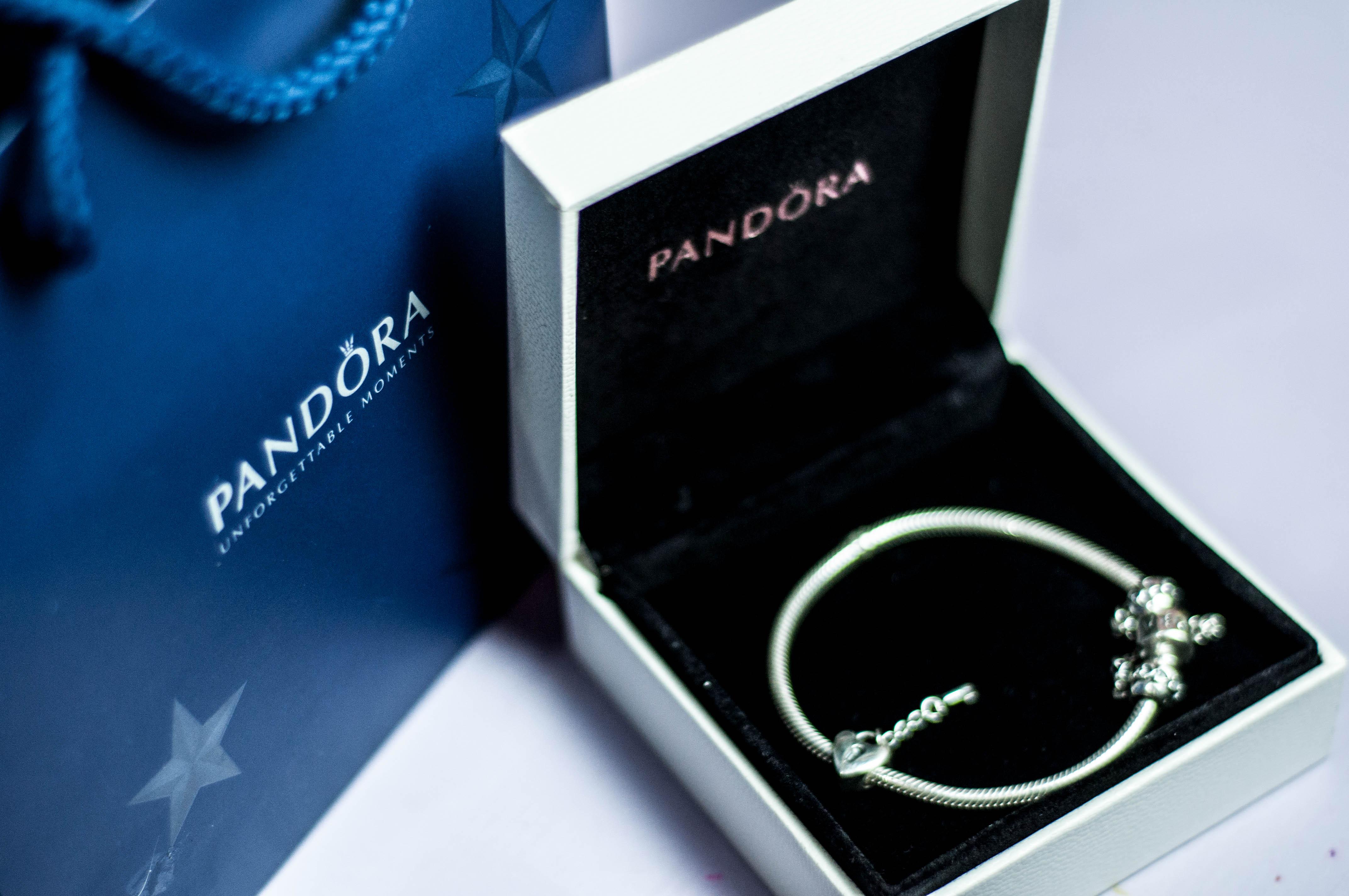 Minha pulseira Pandora