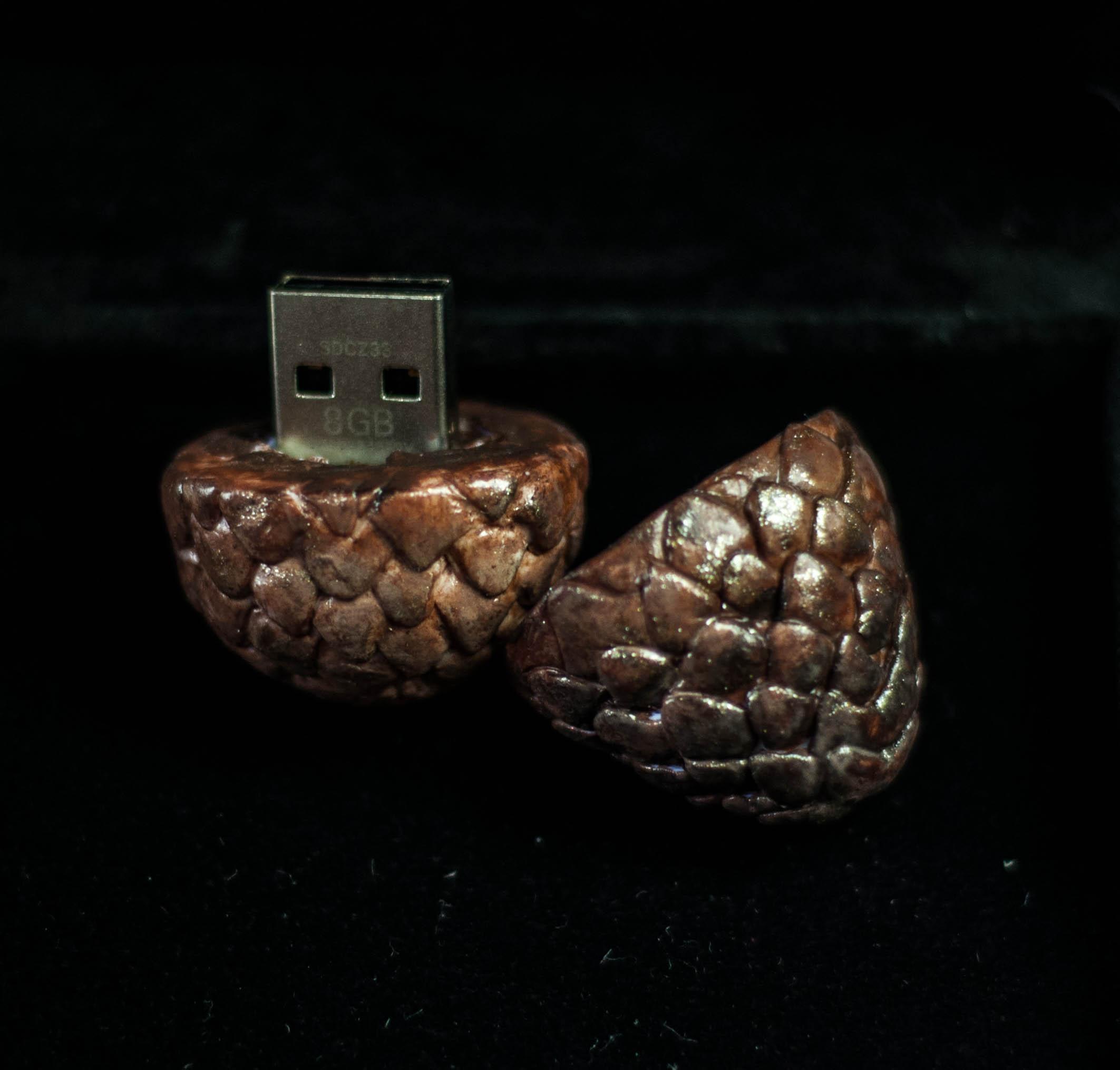 Pen Drive Dragon Egg Ovo de Dragão Game of Thrones
