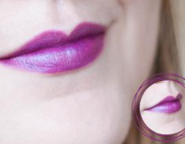Resenha: Batom Roxo – Cosmic Purple – Universe Collection Boticário