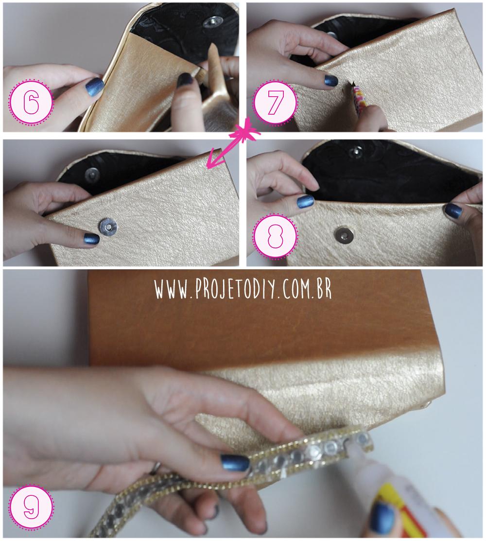 Bolsa De Festa Feita Com Caixa De Leite : Como fazer uma bolsa de festa com caixa leite