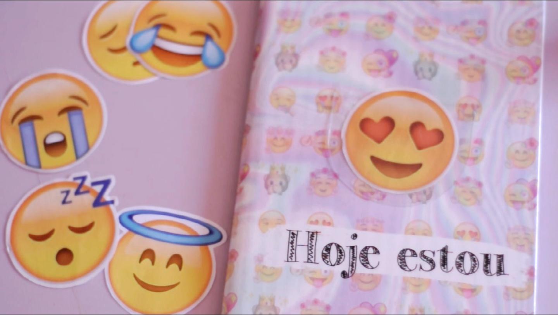 caderno de emoji